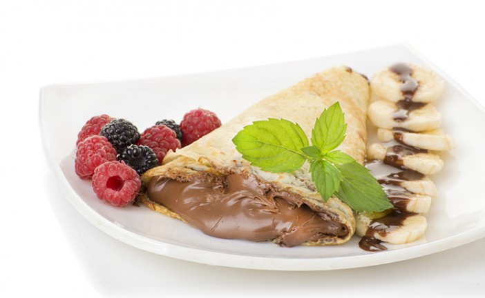 Infused Recipes: Mystery Baking Company Budtella Strawberry-Banana & Berry Crepes
