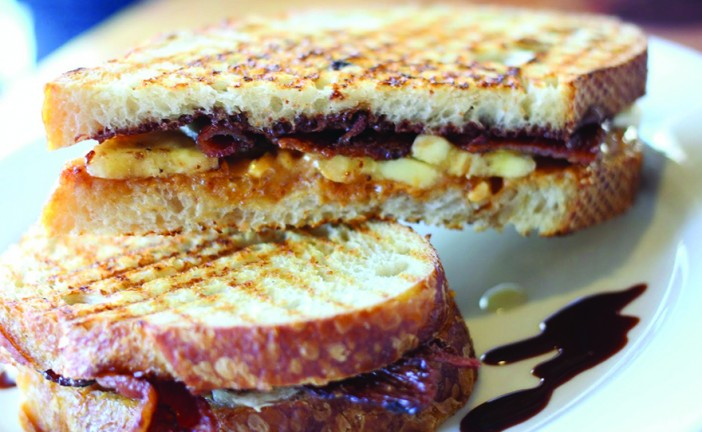Infused Recipes: Peanut Butter, Bacon,  Banana & Honey Sandwich