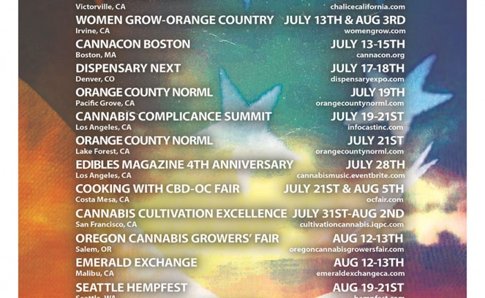 July Cannabis Event Guide