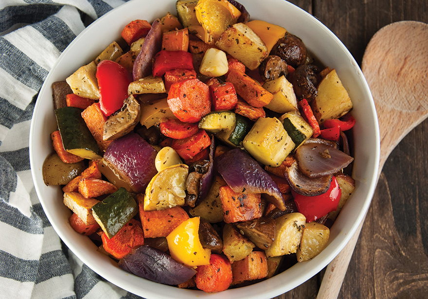 Infused Recipes: Infused Grilled Veggies