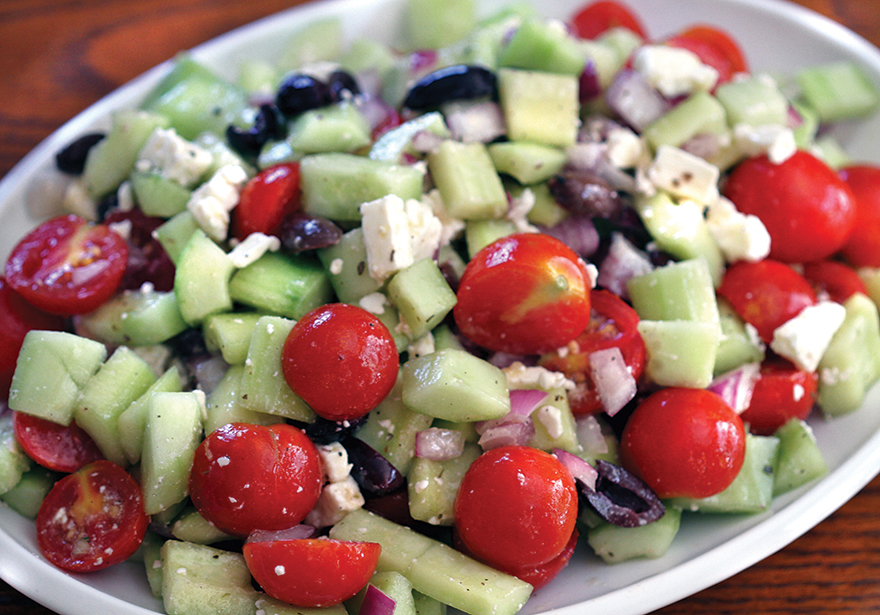 Infused Recipe: Super Medicated Greek Salad