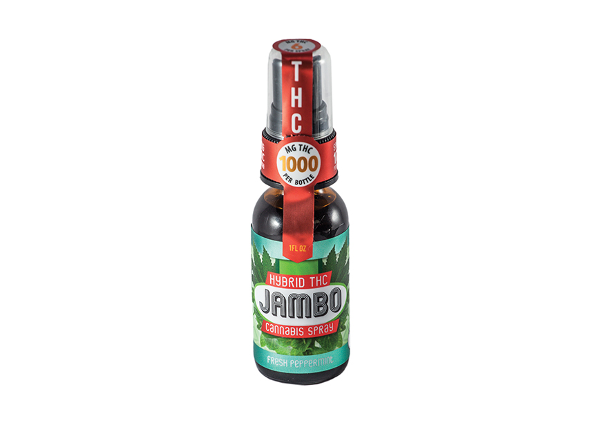 Product Review: Jambo Hybrid THC Cannabis Spray
