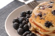 Infused Recipes: High n' Whole Wheat Blueberry Pancakes