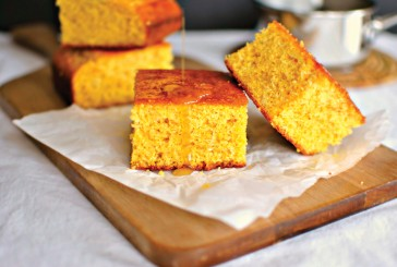 Cannabis Cornbread with Infused Honey