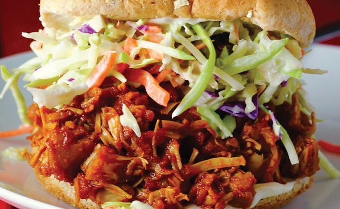 Canna-BBQ Pulled Jackfruit Sandwiches