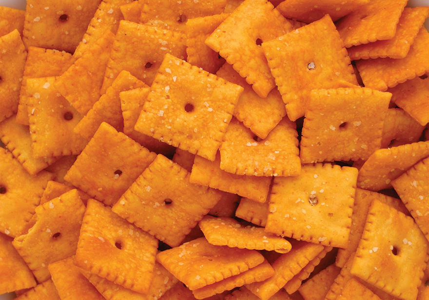 Heavenly Sweet Cheese Cracker Snacks