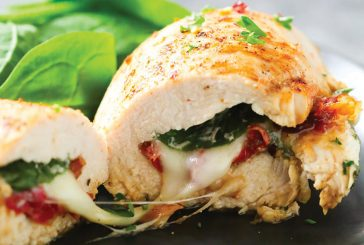Cannabis Kale and Sundried Tomato Stuffed Chicken
