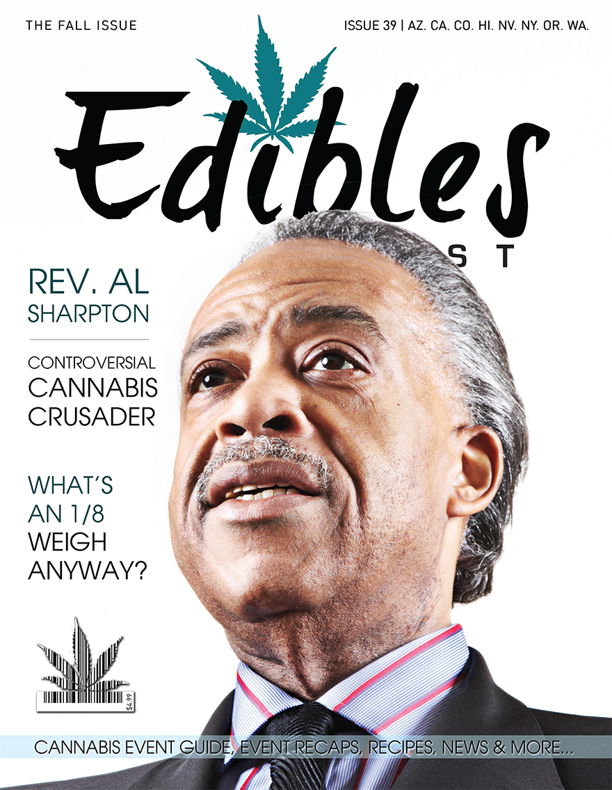Edibles List Magazine Issue 39 Al Sharpton Cover