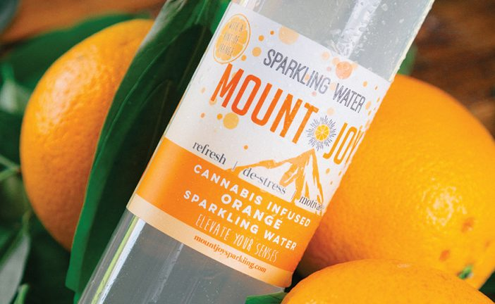 Mount Joy Sparkling THC Beverage