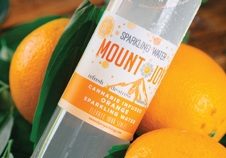 mount joy sparkling thc cannabis water