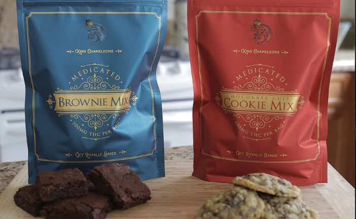 King Chameleon's Take and Bake Cannabis Brownie Mix
