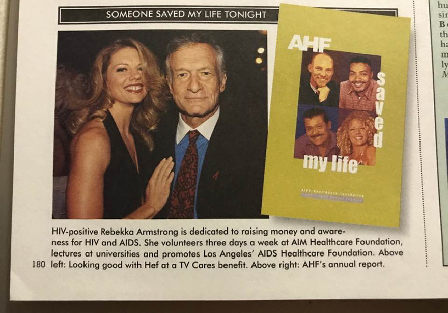 Hugh Hefner Saved My Life