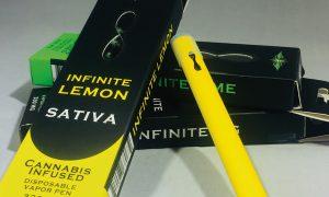Infinity Brand Infinite Lemon Disposable Vapes