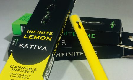 Infinity Brand Infinite Lemon Disposable Vapes