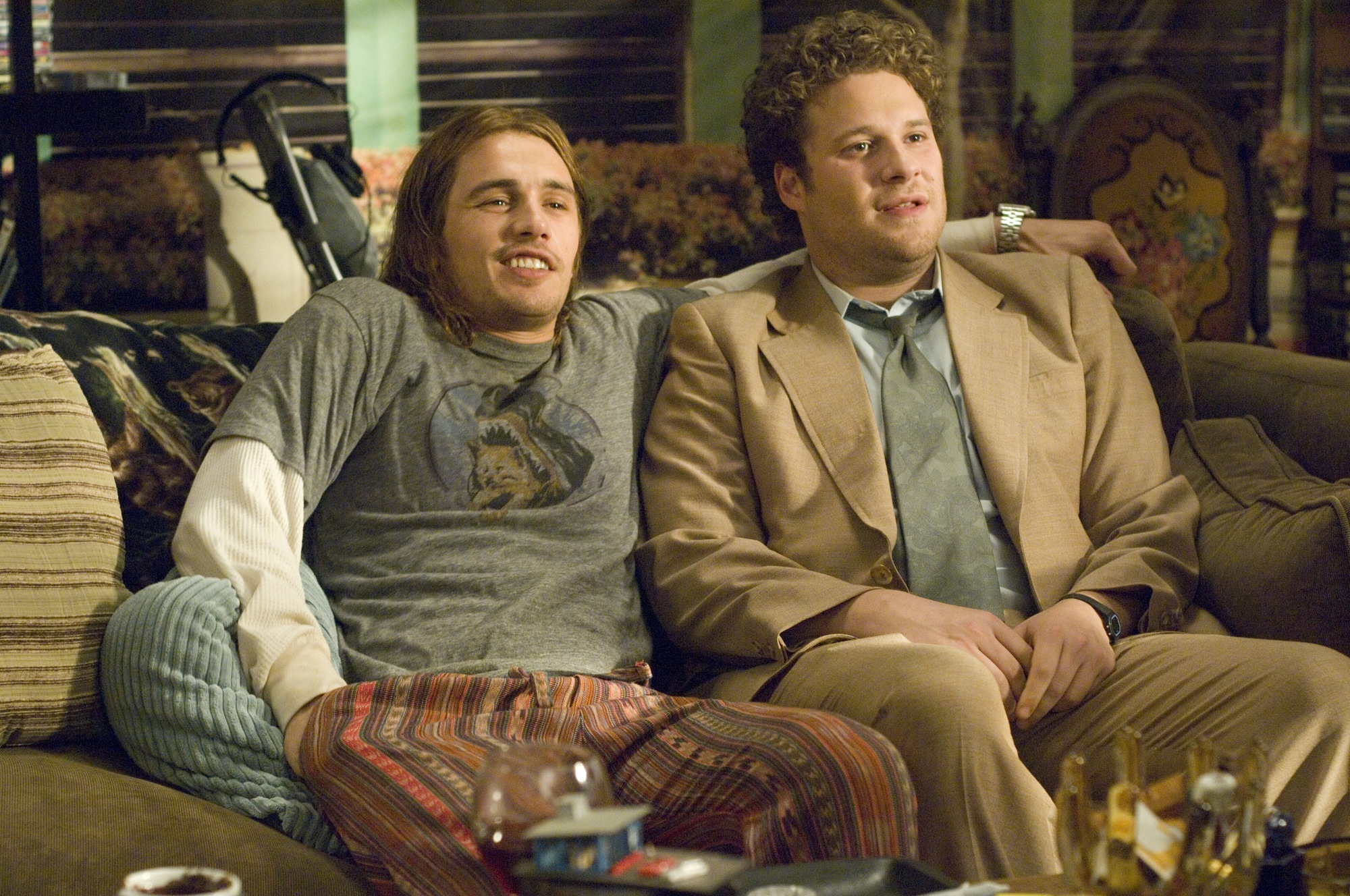James Franco and Seth Rogan