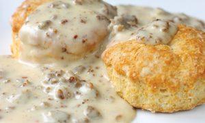 Blazed Biscuits and Ganja Gravy
