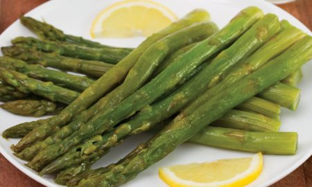 Lemon Roasted Toasted Asparagus