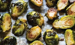 Blazed Broiled Brussel Sprouts