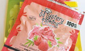 Mystery Baking Company Cannabis Infused Sour Sweet Fruit Gummies