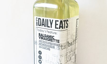 Daily Eats Balsamic Vinaigrette - 250mg CBD per bottle 10 servings of 25mg