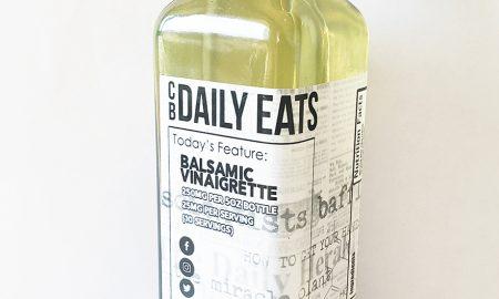 Daily Eats Balsamic Vinaigrette - 250mg CBD per bottle 10 servings of 25mg