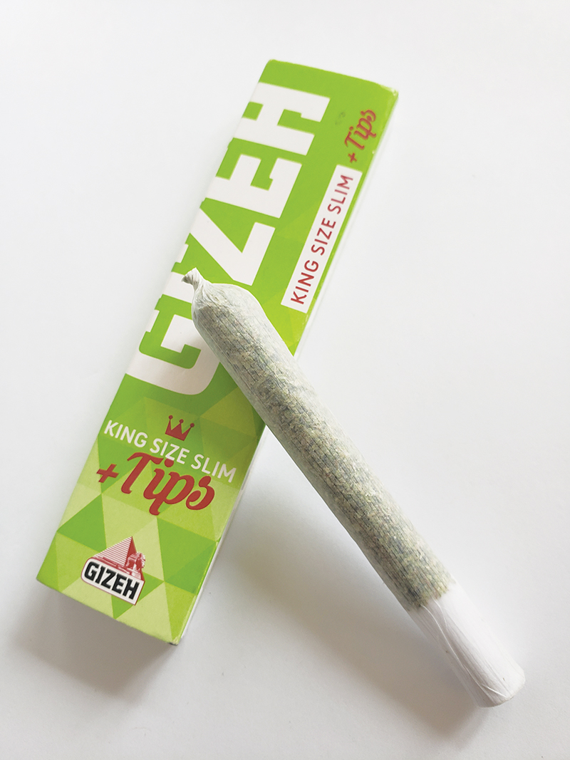 Gizeh King Size Slim Papers + Tips