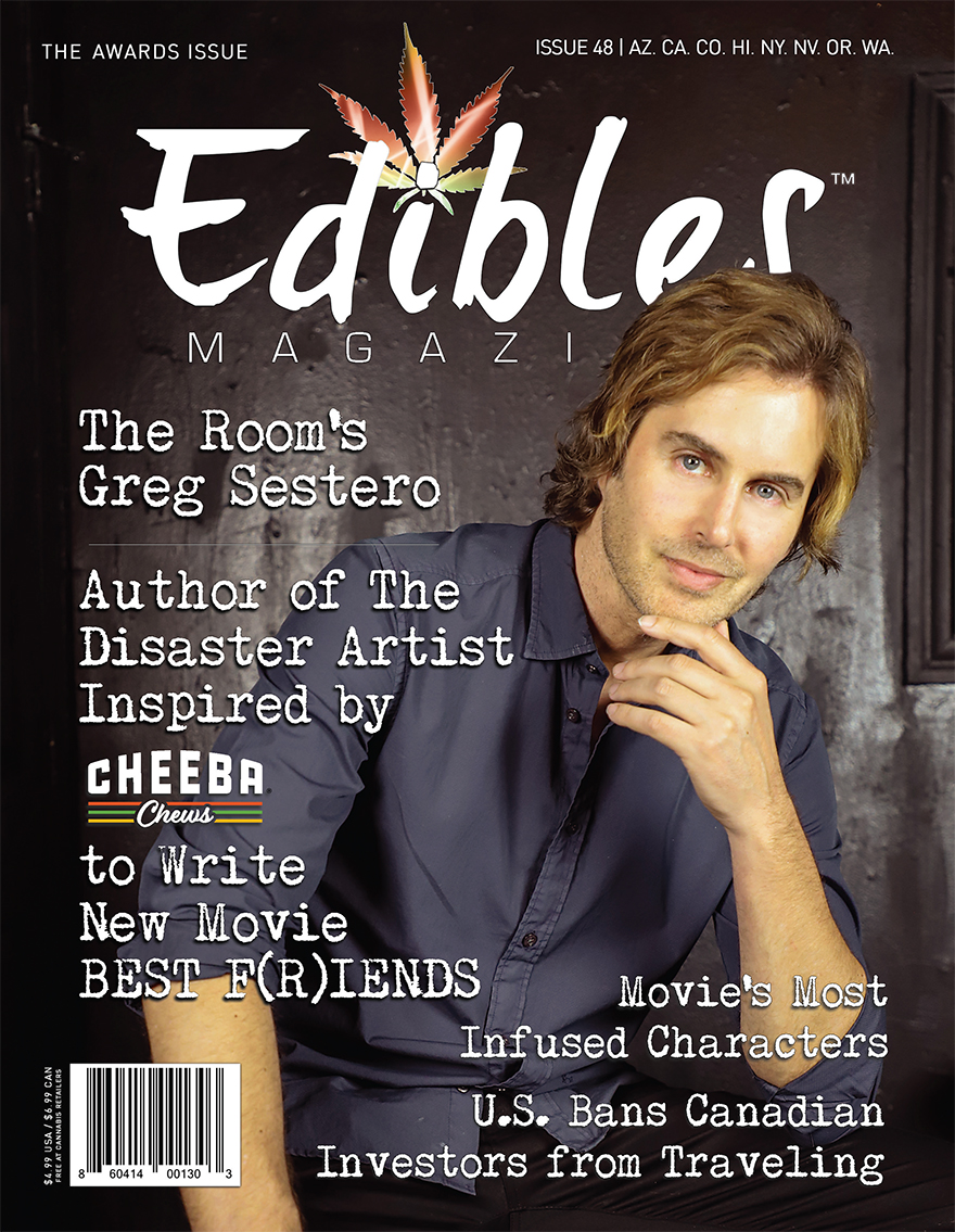 Issue48_COVER-Greg Sestero – Author of The Disaster Artist Writes New Movie High on Sativa Cheeba Chew