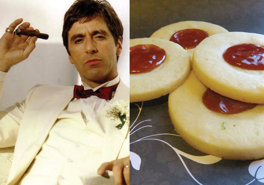 Scarface's Sugar Cookies with Guava & Lime