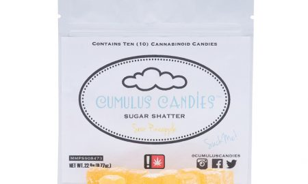 Cumulus Candies - Sour Pineapple Sugar Shatter