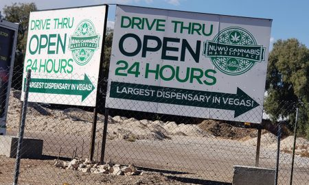 Fear and Drive-Thru in Las Vegas - NuWu Dispensary Feature Nevada - Open 24 Hours