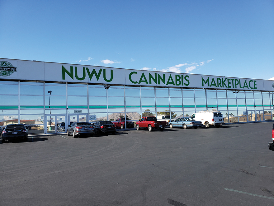 Fear and Drive-Thru in Las Vegas - NuWu Dispensary Feature Nevada