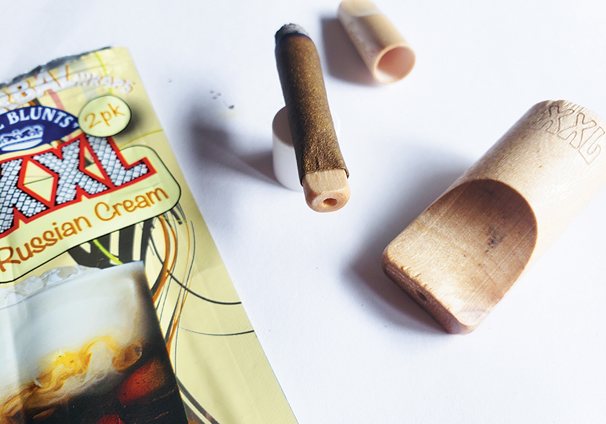 royal blunts herbal wraps and organitips review edibles magazine feature web