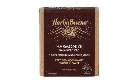 HerbaBuena Harmonize CBD Joints