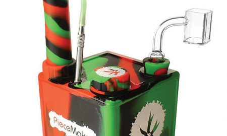 The Piecemaker Kube™ Silicone Dab Rig