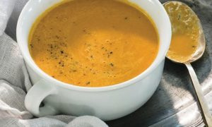 Cannabis Infused Carrot and Ginger Soup Edibles Magazine Recipe