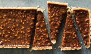 Cannabis Infused Pinenut Toffee Tart Edibles Magazine Recipe