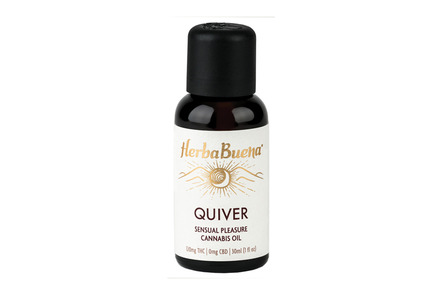 Quiver Sensual Pleasure Cannabis Oil