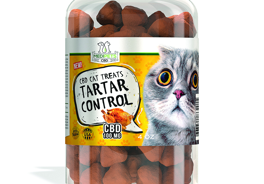 Medipets CBD Cat Treats - Tartar control