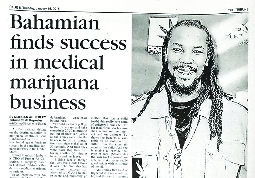 Edible's Magazine Bahamas Legalization Marshall