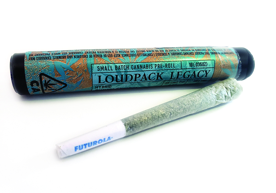 Edible's Magazine Loud Pack Legacy Pre roll review