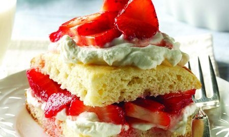Edible's Magazine Recipe Strawberry Shortcake