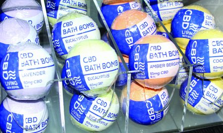 Edibles Magazine Editor's Pick CBD Living Bath Bombs