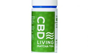 Edibles Magazine Reviews CBD Living Matcha Tea