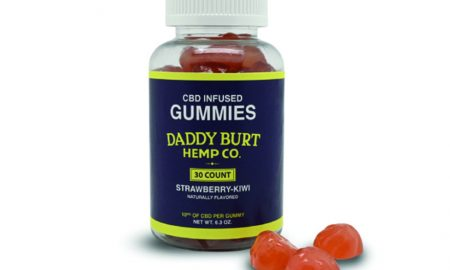 Edibles Magazine Reviews Daddy Burt Hemp Co CBD Infused Gummies