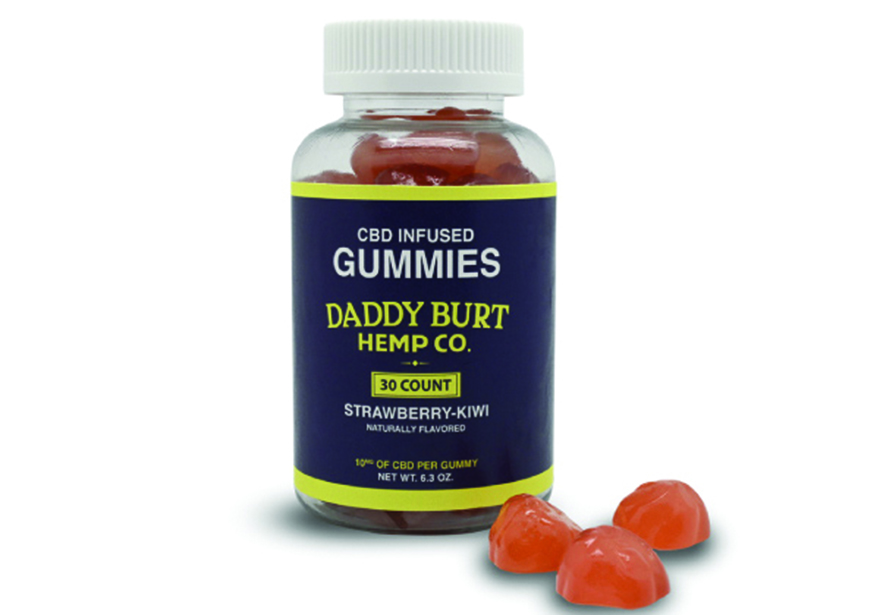 Edibles Magazine Reviews Daddy Burt Hemp Co CBD Infused Gummies