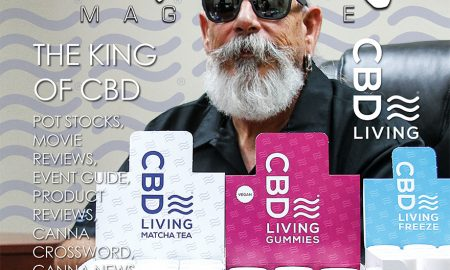 Edibles Magazine CBD Living Cover Story
