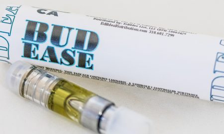 Budease CONCENTRATE VAPE CARTRDIGE HALF GRAM - Edibles Magazine - Cannabis Infused Product Review Feature - SOLVENT AND ADDITIVE FREE VAPES