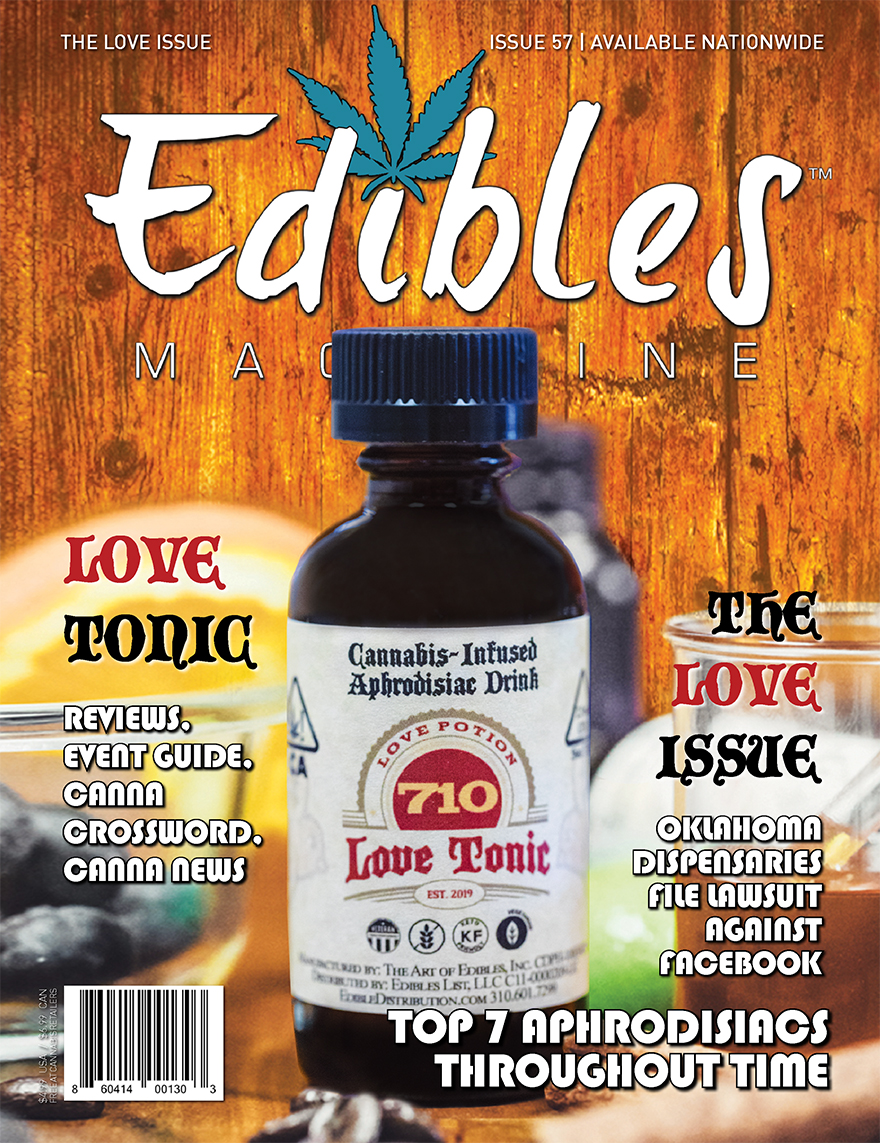 Edibles Magazine - Issue 57 - The Love Issue - Cover