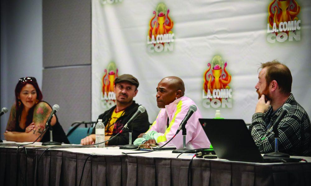 Edibles Magazine at The Los Angeles Comic Con