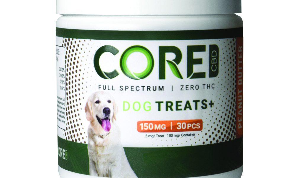 Core Peanut Butter CBD Dog Treats
